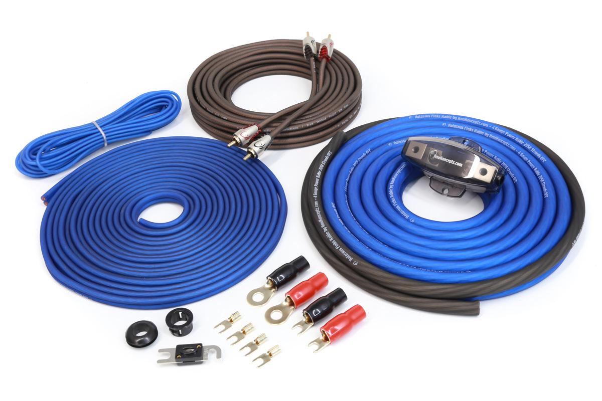 Kolossus 4 Gauge Complete Amp Install Kit