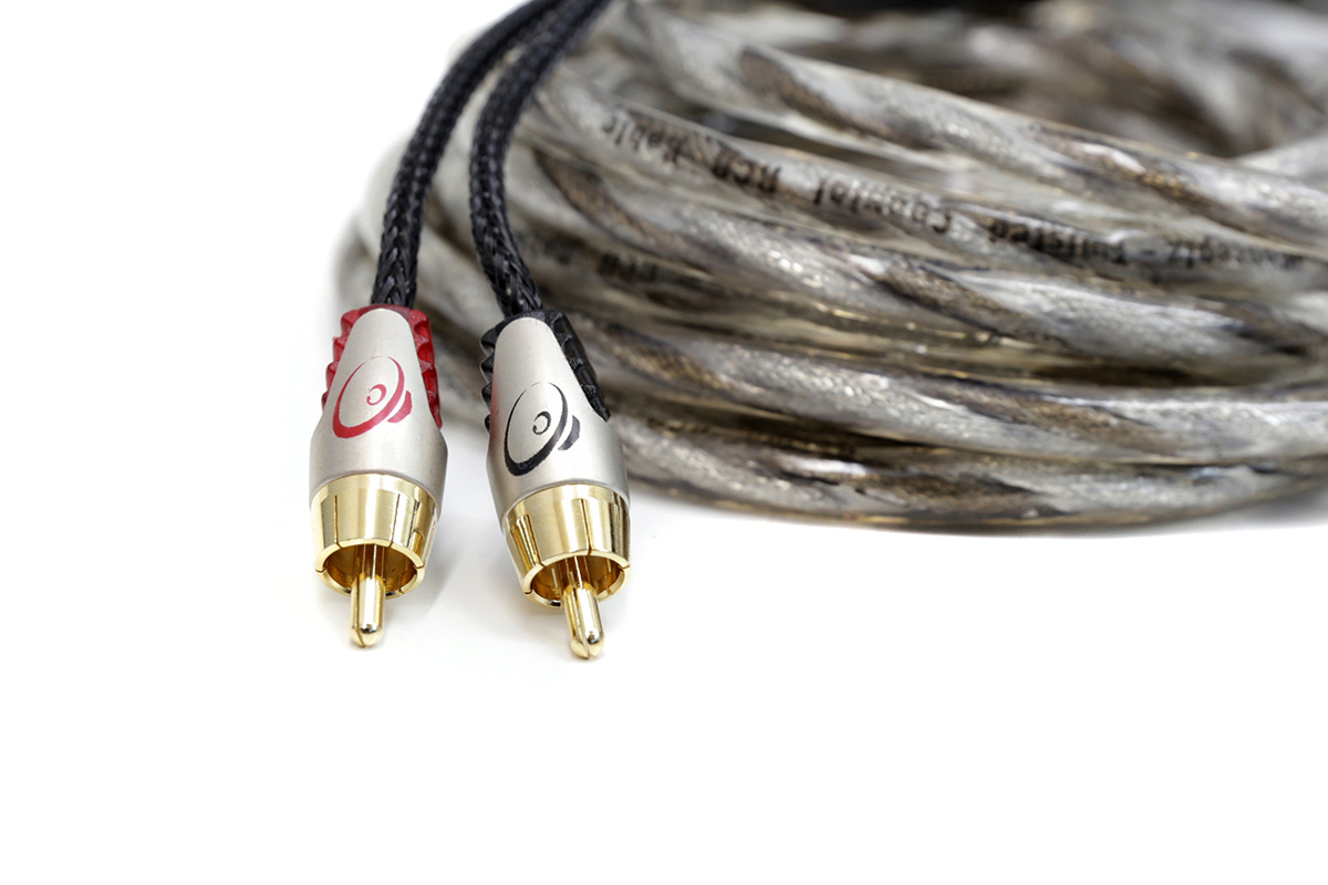 KnuKonceptz Karma v3 Twisted Coaxial 4 Channel OFC RCA Cable 13 Feet 4M